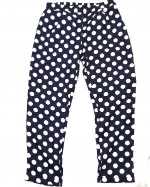 Polka Dot Straight Trousers