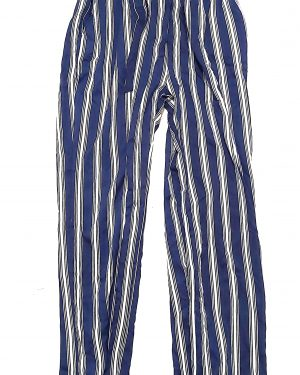 Blue/Navy Lightweight Striped Trousers