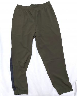 Olive Tapered Straight Leg Work Womens Joggers