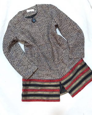 Womens Winter Coat Tweed Jacket
