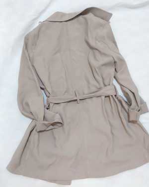 Women's Belted Dress Coat Jacket